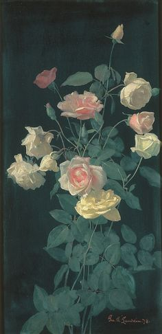 Roses  George Cochran Lambdin  (American, Pittsburg, Pennsylvania 1830–1896 Germantown, Pennsylvania)  Date: 1878