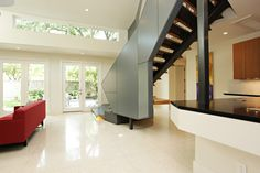 Creating a modern space for this contemporary family was always in mind during the design of this project.