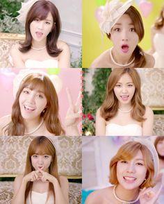 151119 Sunday Monday (Japanese ver.) Music Video  #Apink #Chorong #Bomi #Eunji #Naeun #Namjoo #Hayoung by panda.apink