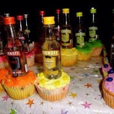 21st Birthday Cupcakes!