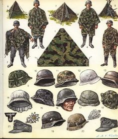 "Attēlu rezultāti vaicājumam ""camouflage uniforms of the german wehrmacht"" Ww2 Uniforms, German Uniforms, Military Uniforms, German Soldiers Ww2, German Army, Military Gear, Military History, Military Drawings, Modern History"