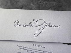 Hochzeitseinladung Hochzeit Einladung Buchdruck Letterpress Wien Baumwollpapier Baumwollkarton Heidelberger Tiegel Kalligraphie außergewöhnlich extravagant ausgefallen Handschrift handgeschrieben exklusiv besonders