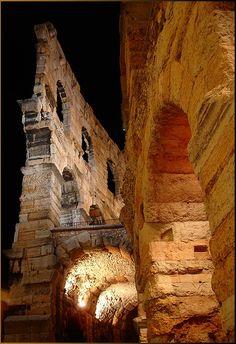 The Verona Arena (Arena di Verona) Roman amphitheatre - Verona, Veneto, Italy