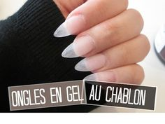 TUTO Ongles en gel extension au chablon   Melissa Nails Be - YouTube