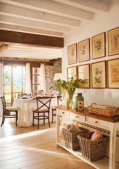 55 New Ideas farmhouse living room decor porches Küchen Design, Design Case, House Design, Interior Design, Cottage Design, Cottage Living, Home Living, Living Room Decor, Dining Room
