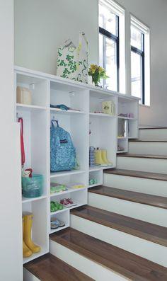 Best 14 storage solutions. Closet stair