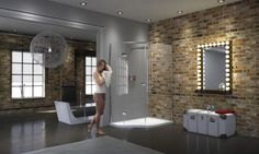 #Bathroom #Pinspiration Matki Shower enclosures, available from UK Bathrooms. #Shower