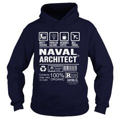 NAVAL ARCHITECT T-Shirts, Hoodies. Check Price Now ==►…