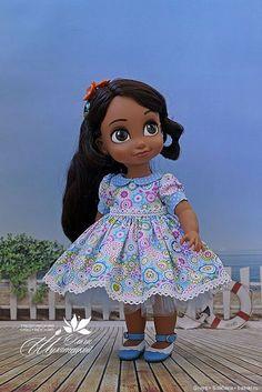 Disney Animator Doll, Pretty Dolls, Girl Dolls, Paper Dolls, Snow White, Disney Princess, Disney Characters, Clothes, Dresses