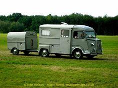 La Locomotion en Fête 2008 - Citroën HY TUB camionnette with 2CV van trailer., via Flickr.