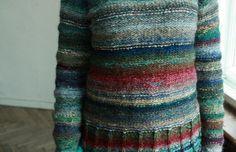 100% natural wool Handmade unisex sweater