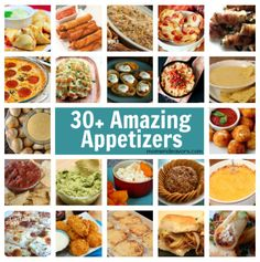 30+ Appetizers (Dips & Finger Foods) perfect for New Year's and football games
