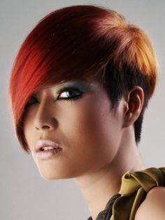 Latest Short Layered Haircut Ideas 2012 - Inspiration often comes from the hottest in-salon looks. Skim through the latest short layered haircut ideas 2012 to explore the versatility of this popular hair length.