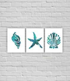 Ocean wall art Starfish Sea shells Watercolor by myfavoritedecor Ocean wall art Starfish Sea shells Watercolor by myfavoritedecor <!-- Begin Yuzo --><!-- without result -->Related Post Frame in string art: Faith Hope and Love made in c. Starfish Painting, Anchor Painting, Coastal Wall Art, Bathroom Art, Wall Art Sets, Beach Art, Printable Wall Art, Canvas Wall Art, Canvas Canvas