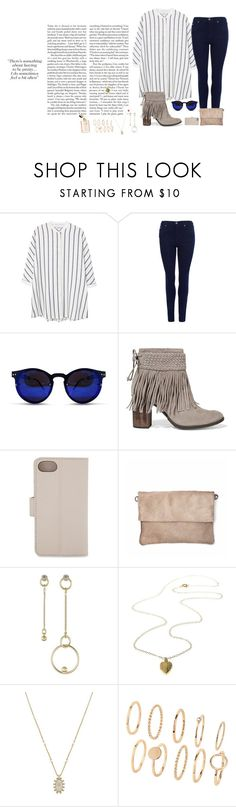 """Untitled #1673"" by style-and-chic-boutique ❤ liked on Polyvore featuring MANGO, Barbour International, Spitfire, Schutz, MICHAEL Michael Kors and Kendra Scott"