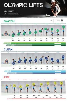The olympic lifts. #strength #getstrong