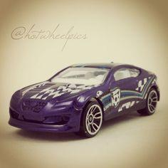 #011 - Hyundai Genesis Coupe - 2014 Hot Wheels - HW City - HW Goal