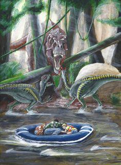 Jurassic Park by Teng Lee [©2016]