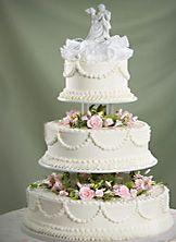 Enchanted Romance Wedding Cake from Safeway
