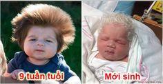 14 em bé sơ sinh có mái tóc kì lạ nhất hành tinh bé số 5 là hoàng tử đẹp trai   Hình ảnh cậu bé Junior Cox-Noon 9 tuần tuổi với một mái tóc rậm dày được mọi người gọi là bé Gấu được cộng đồng mạng chia sẻ với tốc độ chóng mặt ngay sau khi xuất hiện trên một trang web nước ngoài.  ảnh minh họa  Mái tóc của những em bé này chắc chắn sẽ khiến bạn đi từ bất ngờ này đến bất ngờ khác.  1. Bé Gấu 9 tuần tuổi với mái tóc tốt chưa từng thấy  Xem Video: Cậu Bé Có Mái Tóc Kỳ Lạ Nhất | Mái Tóc Độc Nhất…