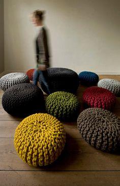 12 креативных идей для украшения своего дома – всё, что вам потребуется, – это спицы и клубки ниток!
