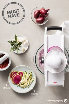... settings. Add it to your wedding registry to make meal prep a breeze