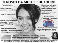 O ROSTO DA MULHER DO SIGNO DE TOURO THE FACE OF WOMAN OF TAURUS SIGN