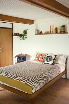 Home Sweet Home - Orla Kiely Home Bedroom, Bedroom Decor, Bedroom Fun, Bedroom Ideas, Master Bedroom, Inside A House, Awesome Bedrooms, Beautiful Bedrooms, Interior Decorating