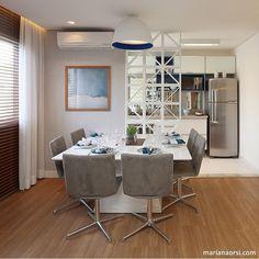 Boa noite ✨  Sala de jantar l Destaque para o painel vazado separando jantar da cozinha! Eu adorei!!! Projeto @carolinaouroarq e  @mariana_orsi #dinningroom #top #saladejantar #luxurydesign #cool #goodnight #boanoite #feriado #arquitetablogueira #inspiration #photooftheday #photo #decor #details #architecturelovers #glam #decorblog #instadesign #dinner #food #decoracion #chic #blogfabiarquiteta #fabiarquiteta  Blog www.fabiarquiteta.com  fabiarquiteta