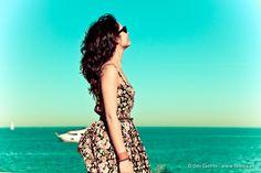 #Summer looks, #vintage #beach #flowers