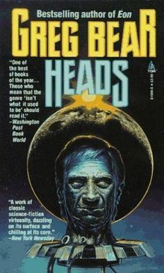 Heads by Greg Bear (1992, Paperback) vintage science fiction #sciencefictionbooks