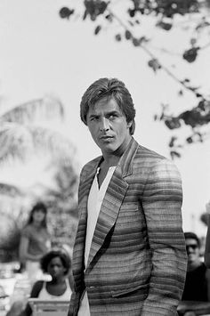 VICE 'Give a Little Take a Little' Episode 10 Air Date Pictured Don Johnson as Detective James 'Sonny' Crockett