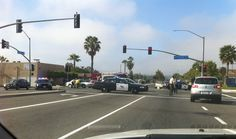 This accident was this morning on Santa Fe in Vista! Hope they had Car Insurance