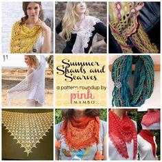 Summer Shawls and Scarves roundup ~ free patterns ✿⊱╮Teresa Restegui http://www.pinterest.com/teretegui/✿⊱╮