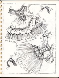 Posts about Artist drawn paper dolls – Charles Ventura – Ballet Book 2 written by Marlendy Colouring Pages, Adult Coloring Pages, Coloring Books, Ballet Books, Paper Dolls Clothing, Doll Clothes, Vintage Dance, Magazine Crafts, Paper Dolls Printable