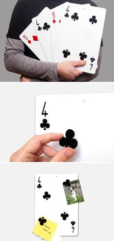 Creative poker magnet