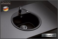 Chiuveta bucatarie granit ovala Schock Manhattan Manhattan, Sink, Home Decor, Faucet, Granite, Sink Tops, Vessel Sink, Decoration Home, Room Decor