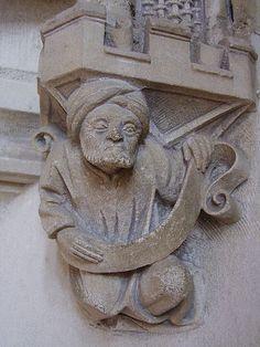 Arabic Cul de Lampe - Palais Jacques-Cœur. Bourges. Centre