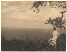 At the Edge of the Plains, c. 1923, Laura Gilpin
