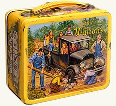 The Waltons vintage lunchbox