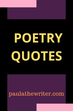 Do you love poetry quotes? Whether you enjoy reading or writing poetry, or both, these quotes should definitely appeal. The post is also ideal for sharing via social media, or perhaps via email, with a poet friend. Writing Poetry, Writing Quotes, Poetry Quotes, Sylvia Plath Poems, Motivational Quotes, Inspirational Quotes, S Quote, Positive Mindset, Encouragement