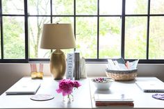 See more images from 10 secrets to a well-styled desk on domino.com
