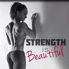 Fitness - strength is beautiful