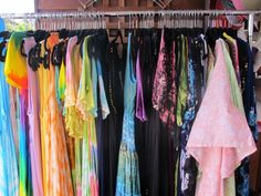 Lovely summer dresses, great for the beach or on holidays. Available at Gypsy's of Mogo