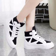 Giày cao cổ nữ phong cách Hàn
