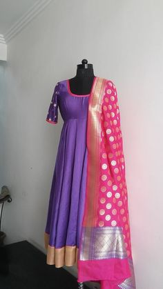 Salwar Designs, Blouse Designs, Dress Designs, Indian Attire, Indian Ethnic Wear, Pakistani Outfits, Indian Outfits, Anarkali Dress, Anarkali Suits