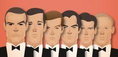 Bond caricature - Fubiz - Stanley Chow