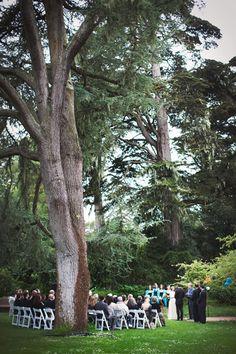 Shakespeare Garden. Real Weddings: Prairie & Andris' San Francisco Garden Wedding