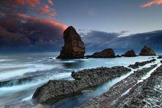 Breathtaking Scenery off Cantabrian coast by Jose Ramon Irusta