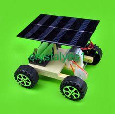 Solar Car Science Education Assembled Toy Handmade Material Model DIY KP29 C - http://hobbies-toys.goshoppins.com/models-kits/solar-car-science-education-assembled-toy-handmade-material-model-diy-kp29-c/
